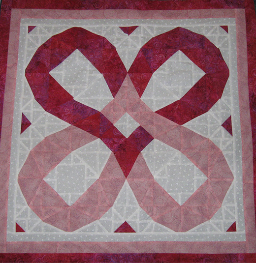Double the Love Quilt Free Pattern
