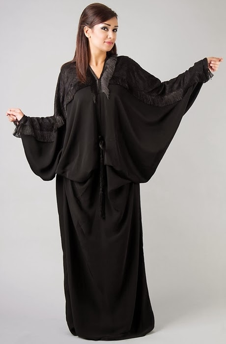 fancy abaya from uae dubai abaya designs for 201415