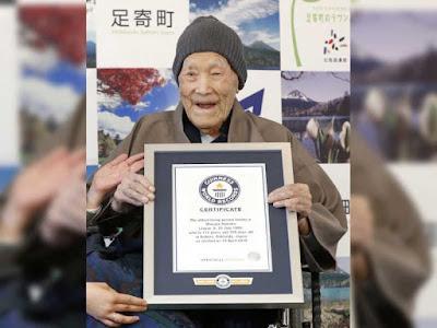 World's Oldest Living Man, Masazo Nomaka of Japan Dies