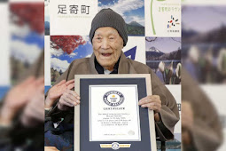 World's Oldest Living Man, Masazo Nomaka of Japan Dies