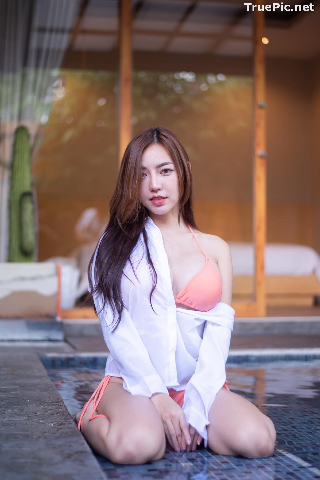 Image Thailand Model - Champ Phawida - Champ In The Pool - TruePic.net - Picture-2