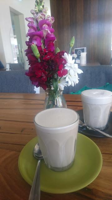 Gracious Grace, Lilydale, soy chai latte