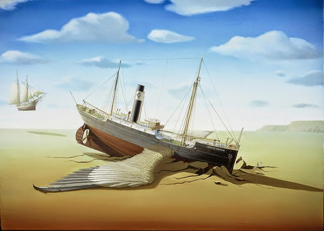 19-Jürgen-Geier-Ships-and-Maritime-Surreal-Paintings-www-designstack-co