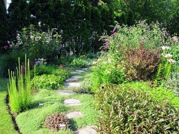 Garden Paths Flashy Design
