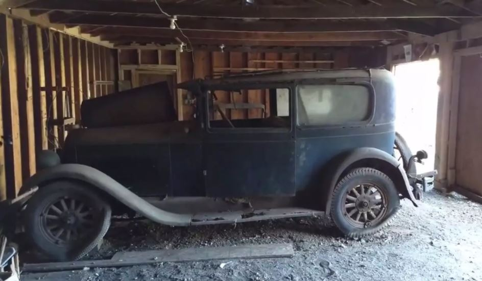 Just A Car Guy: the only known 1927 Marmon Model L was recently ...