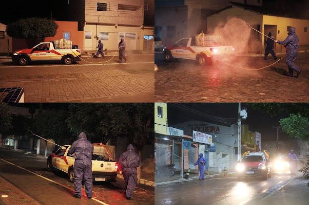 Marcação de consultas e desinfecção de ruas e avenidas continuam acontecendo em Ibimirim mo sertão do Moxotó