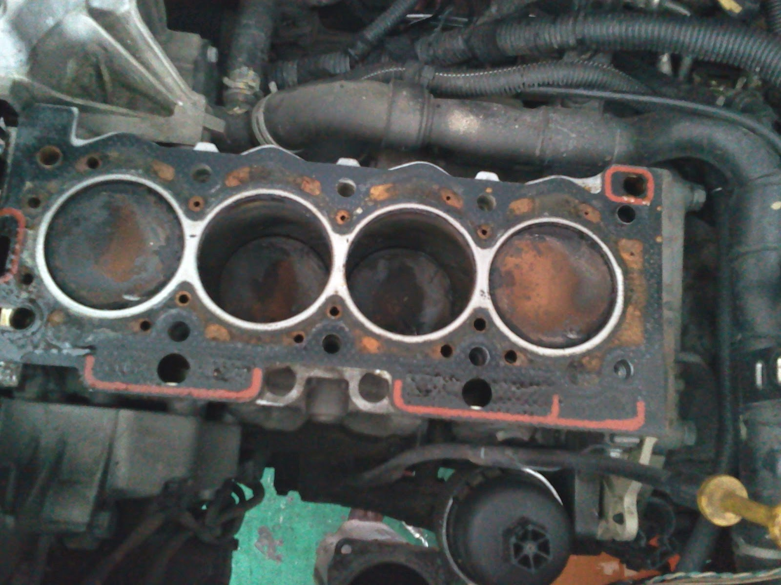 medium resolution of this is another car which had its timing belt slipped too mine were double the