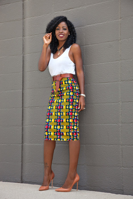 Crop-Tops-and-Ankara-Pencil-skirts=