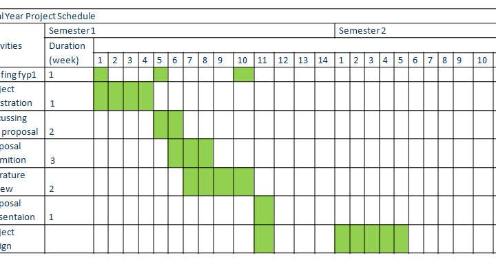 project chart