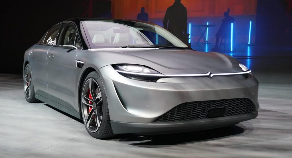Vision-S Concept Is A Tech-Loaded Car