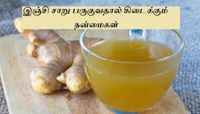 Ginger juice benefits in tamil