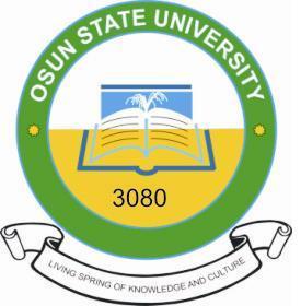 Nature of the Osun State University (UNIOSUN) Screening Exercise.