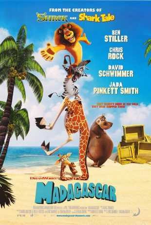 Madagascar 2005 BRRip 720p Dual Audio In Hindi English