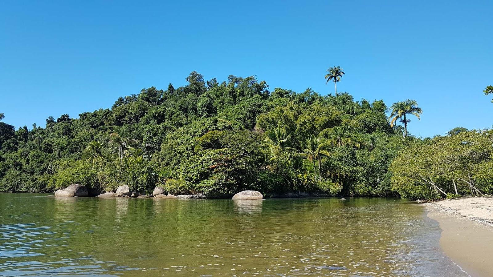 Praia de Jabaquara em Paraty.