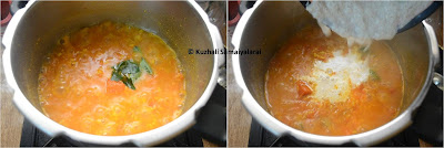 Tomato Kootu recipe for Rice, Thakkali kootu recipe, தக்காளி கூட்டு , side dish for rice recipes