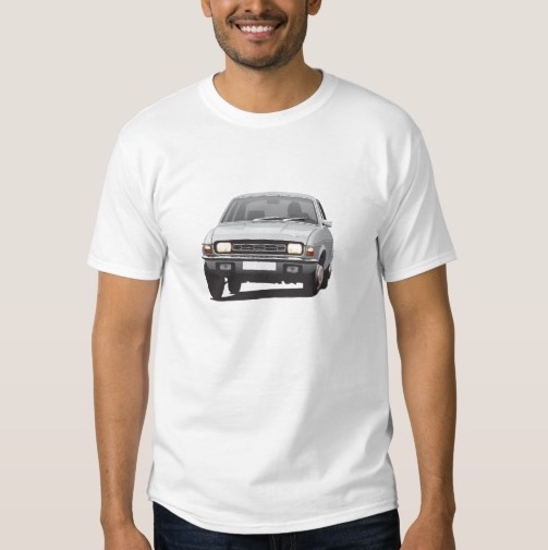 Austin Allegro man print t-shirt