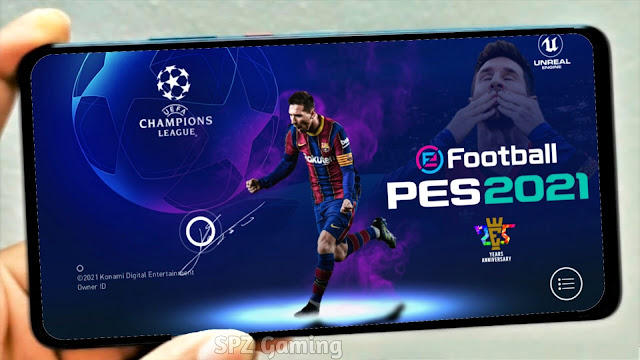 Download Best Patch of Champions League | PES 2021 Mobile 5.3.0 Best Patch UEFA Android Update
