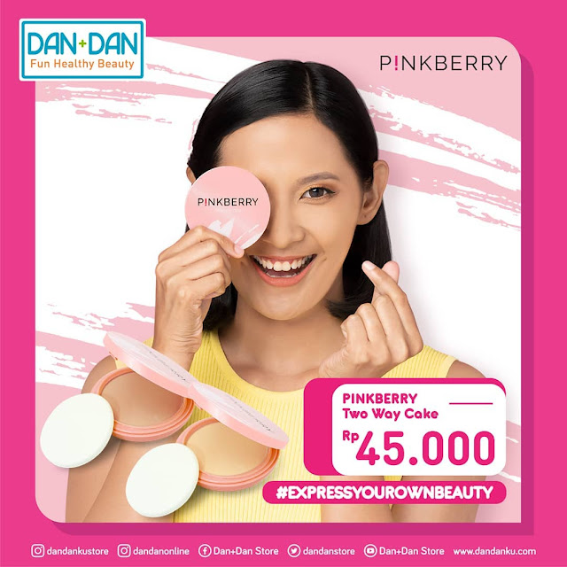 #DanDan - #Promo PinkBerry Two Way Cake Hanya 45K