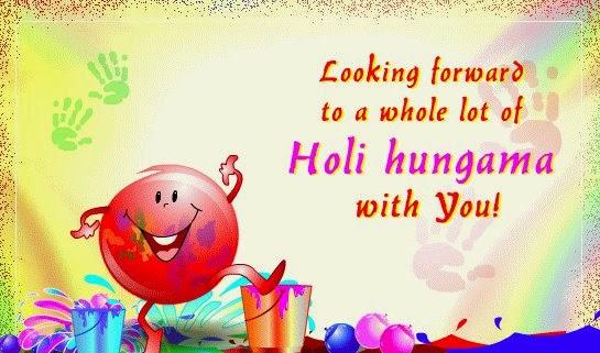Holi Cartoon Pics