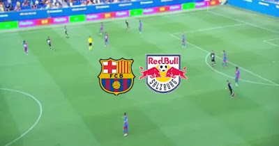 مباراة برشلونة وريد بول بث مباشر
