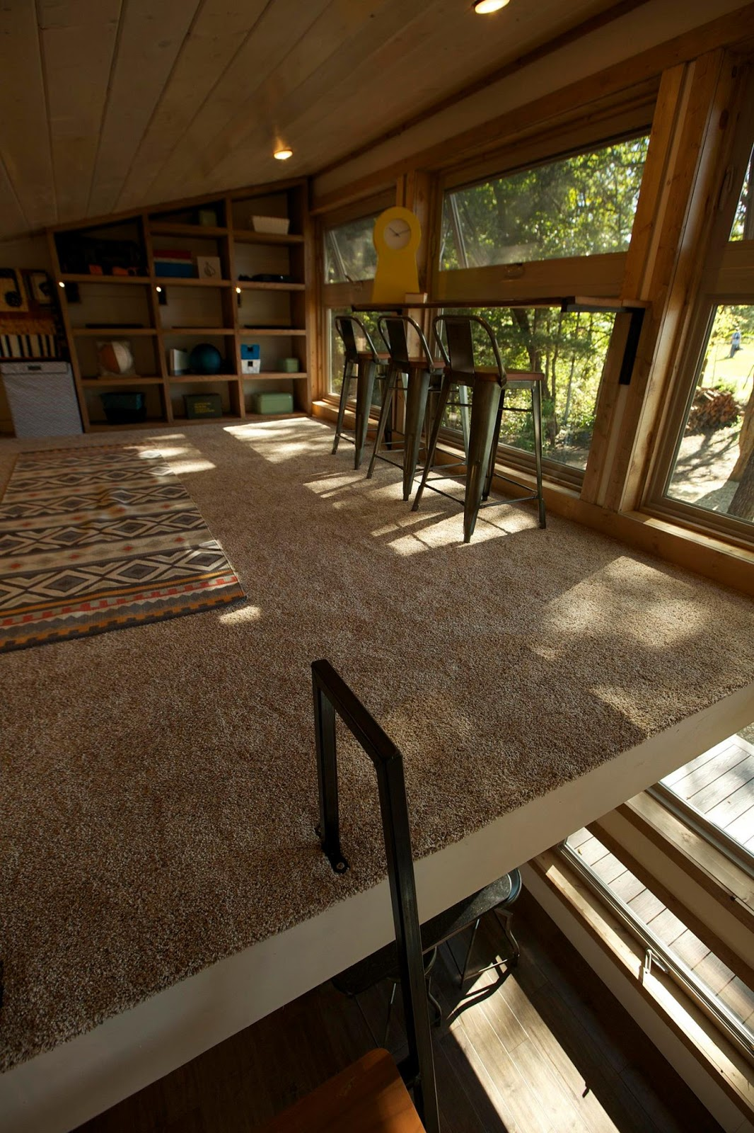 The Little Living Blog Seven S Company Cabin 545 Sq Ft