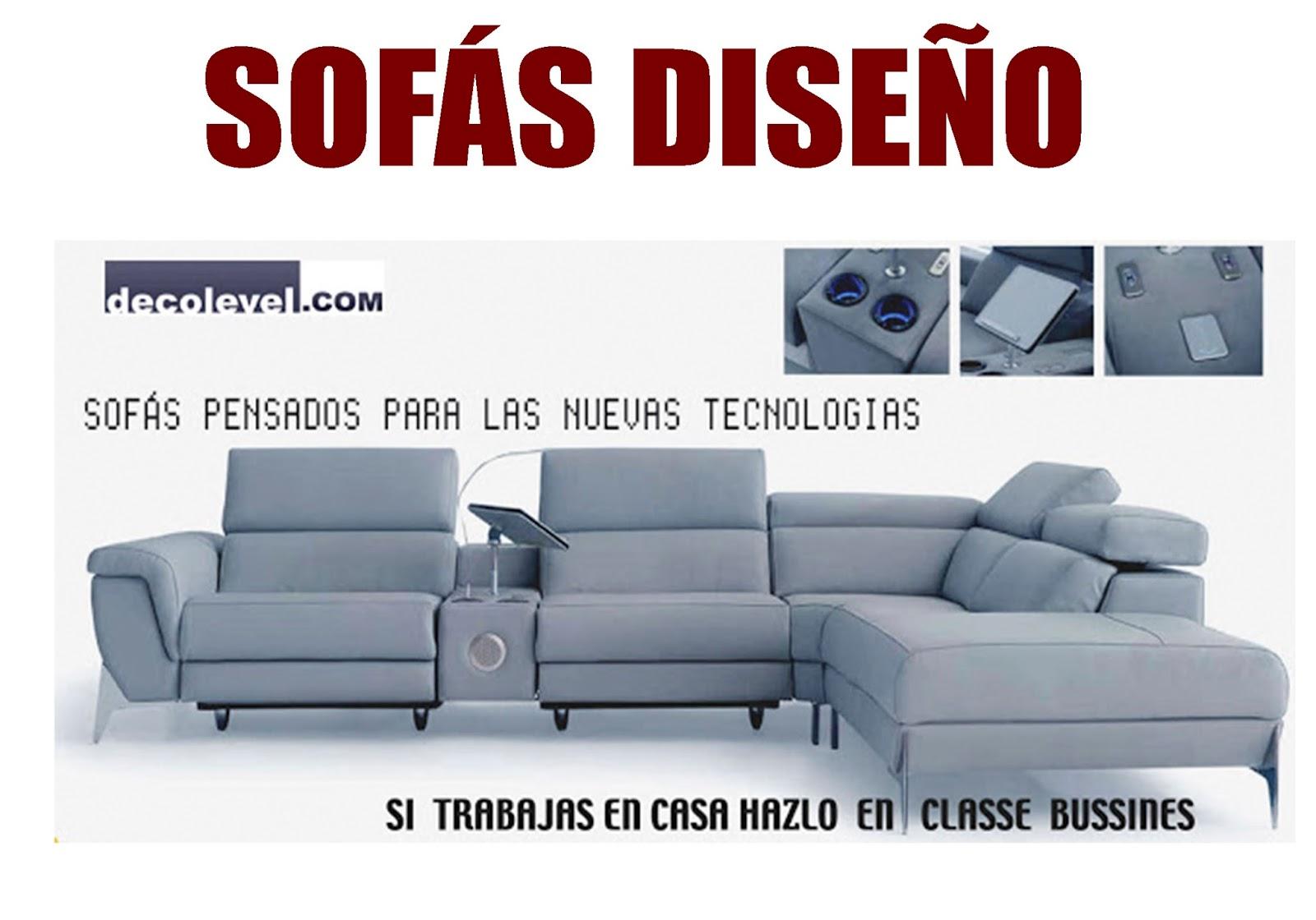 SOFAS DISEÑO BARCELONA | DECOLEVEL: SOFAS - MUEBLES - ARMARIOS - JUVENIL