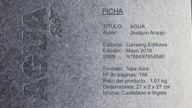 Agua. Joaquín Araujo