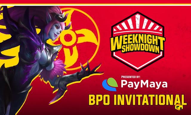 Paymaya BPO Cup ML tournament gizmo Manila