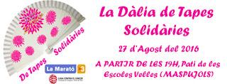 tapes solidàries, #ladaliademaspujols, la Marató de TV3,