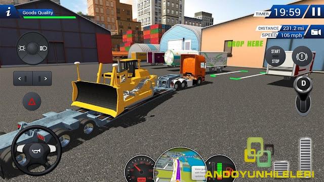 Euro Truck Driving Simulator 2018 Hileli APK