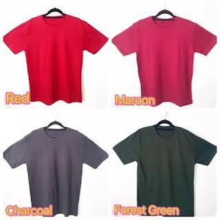 Distributor Kaos Polos Katun Paling Murah di Martapura