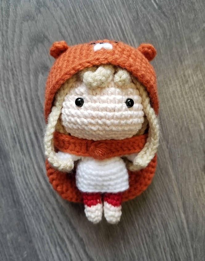 Himouto! Umaru-Chan Anime Character Free Crochet Pattern