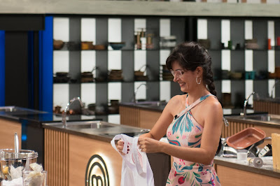 Ana Karina dá adeus à competição. Crédito: Carlos Reunis/Band