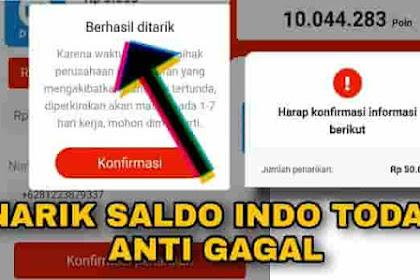 Bonus undangan teman indo today tidak bisa ditarik atau diklaim