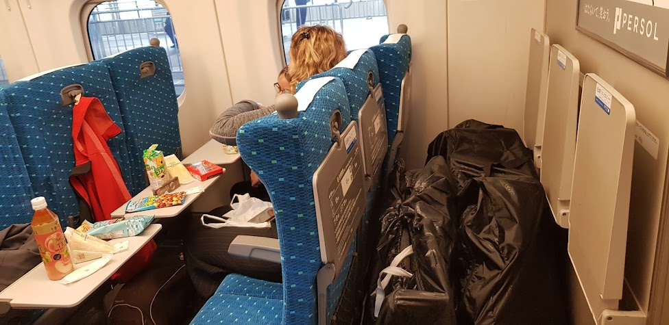 Travelling with bikes on Japanese Trains