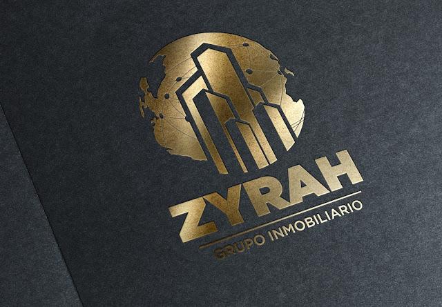 Logotipo Zyrah - Grupo Inmobiliario