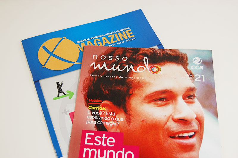 Revista Personalizadas sob demanda