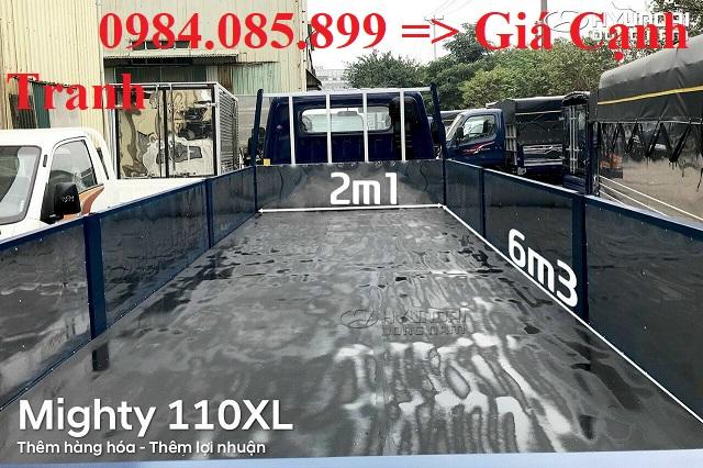 Kích thước thùng xe tải HD110XL