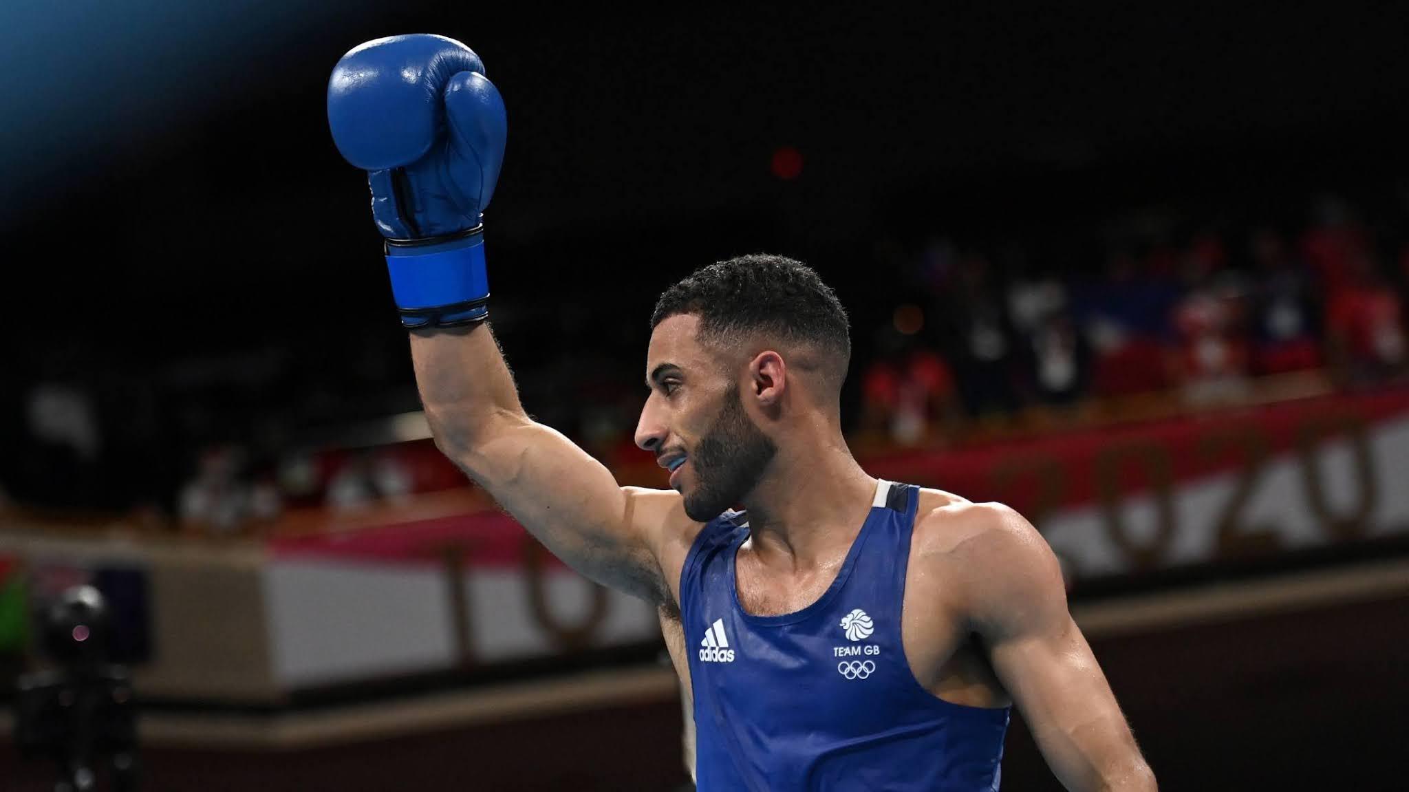 O boxeador britânico Galal Yafai conquistou seu primeiro ouro olímpico em Tóquio