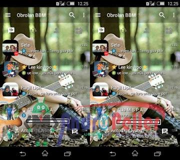 BBM Mod Transparant V3.0.0.18 Apk Terbaru Gratis