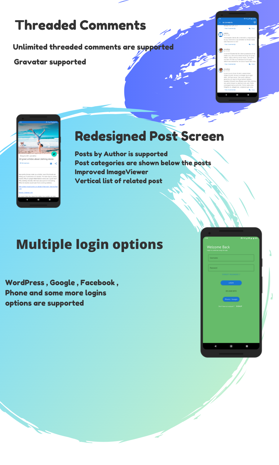 WorDroid - Full Native WordPress Blog App For Android - 4