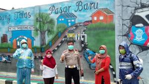 Sat latas Polres Metro tangerang Kota Peduli Lingkungan Warga Kampung Talas Pasar Baru
