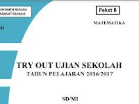 Download Soal Try Out Ujian Sekolah UN SD/MI 2017