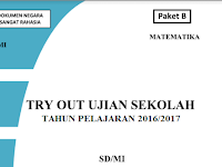 Download Soal Try Out Ujian Sekolah UN SD/MI 2017