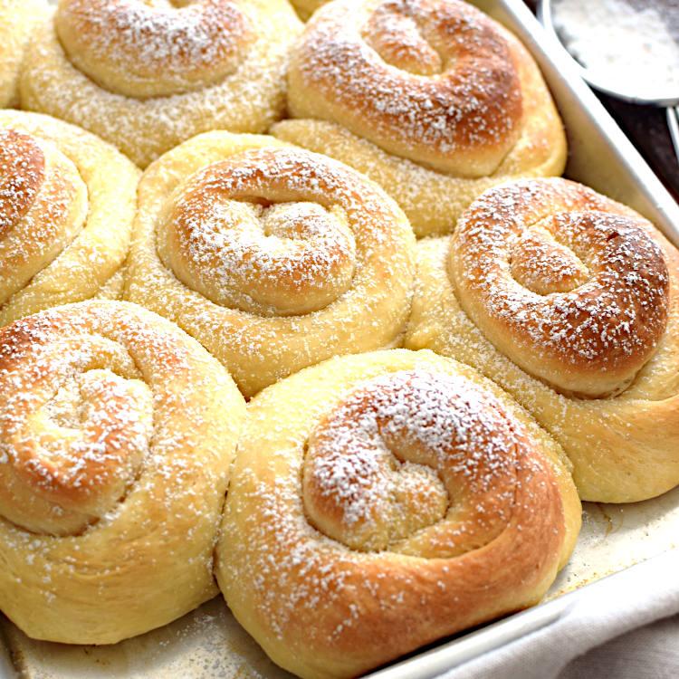 Receta para preparar mallorcas, pan de Puerto Rico