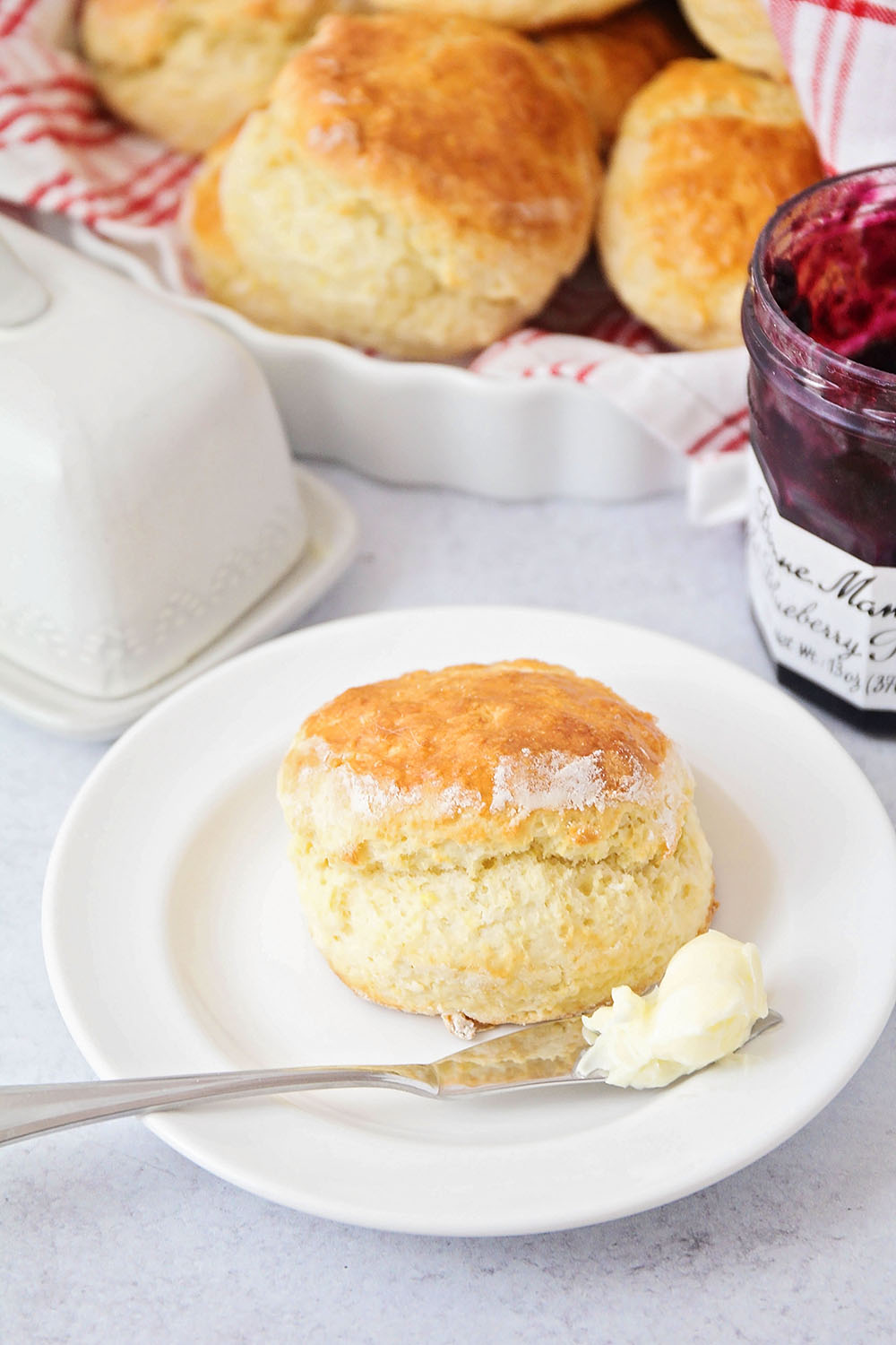 These scones are perfectly light and tender, and totally delicious! Paul Hollywood's recipe makes the ideal scone!
