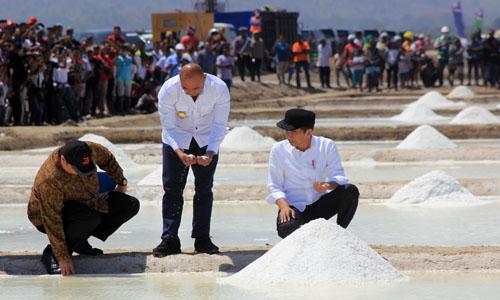 Pemerintah Akan Impor Garam, Puluhan Ribu Ton Produk Lokal Masih Ada di Gudang