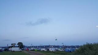 Camping at Bristol Volksfest