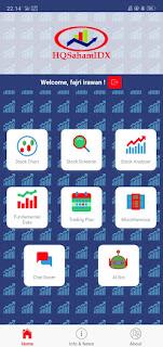 HQ Saham Idx: Aplikasi Analisis Saham Otomatis