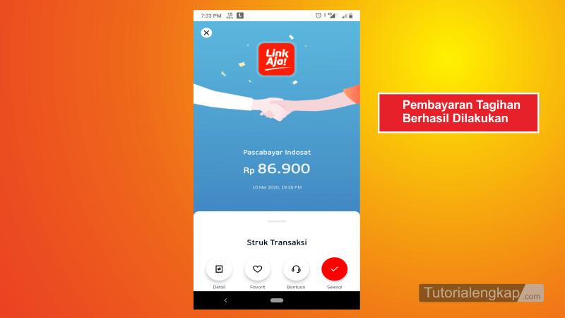 Tutorialengkap 7 Cara Bayar Tagihan Pascabayar Indosat IM3 Melalui LinkAja